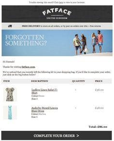 32 Best Basket Abandonment Emails Images Email Marketing