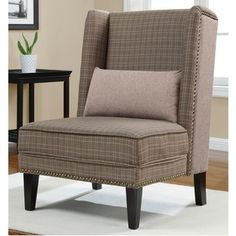 Gatehouse Tweed Wing Chair - on clearance!!