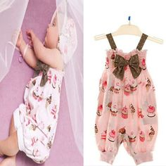 adorable baby girl rompers | New Cute Polka Dot Baby Girl Romper Jumpsuit With Bow 2013 Causal ...