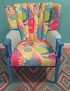 $650. This chair is sold- however we can collaborate on a custom-Beautiful, colorful, Boho Spirit Chair of your own !