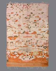 Vintage Moroccan Boujad Carpet BJ18