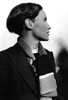 die flaneuse: Marianne Breslauer, Ruth von Morgen, Berlin, 1933.