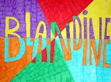 Primary School Art, Art School, Programme D'art, Name Design Art, Name Drawings, Classe D'art, Fall Art Projects, 4th Grade Art, Art Folder