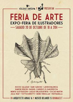 expo-feria de ilustradores Valencia