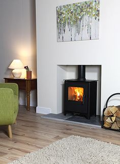 Living Room Idea with Log Burners New Loxton 6 Defra Approved Multifuel Stove – Ideas for Home Decor Log Burner Living Room, New Living Room, Living Room Decor, Living Spaces, Small Log Burner, Wood Burner Fireplace, Fireplace Wall, Fireplace Ideas, Fire Pit Furniture