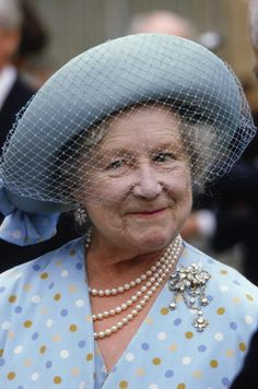 The Queen Mother Wearing A Diamond Brooch Which Was Given To Her As A Wedding Present By Her Husband, The Duke Of York, Who Later Became King George Vi. The Queen Mother Is Visiting Jersey. Get premium, high resolution news photos at Getty Images Royal Uk, Royal Queen, Royal Life, Royal House, Lady Elizabeth, Princess Elizabeth, Princess Kate, George Vi, Adele