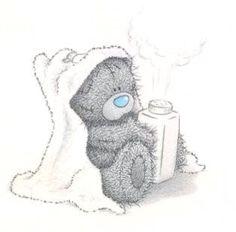 Tatty Teddy- baby powder play at bath time