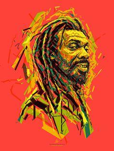 International Reggae Poster Contest, digital art by Charis Tsevis - ego-alterego.com