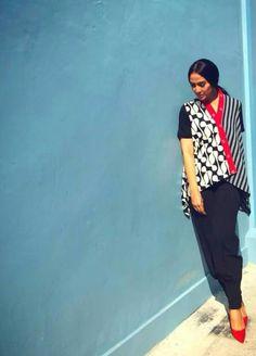 Blouse Batik, Batik Dress, Ethnic Outfits, Ethnic Clothes, Batik Kebaya, Batik Fashion, Ikat, Casual Wear, Couture