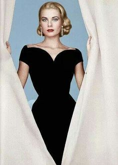 Grace Kelly. This dress is so beautiful and iconic.
