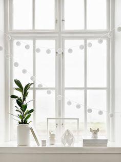 dekoracja parapetu // window decoration