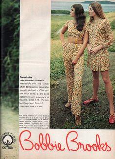 1960's fashion Bobbie Brooks 60s Fashion Trends, Seventies Fashion, 60 Fashion, Retro Fashion, Fashion Models, Vintage Fashion, Classic Fashion, Fashion Photo, Colleen Corby