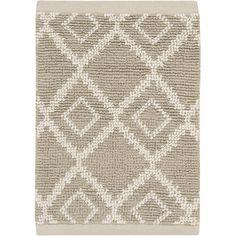 Surya Aztec Ivory/Light Gray Rug Rug Size: 2' x 3'