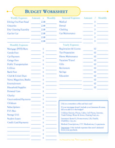 monthly household budget worksheet printable free worksheet angie