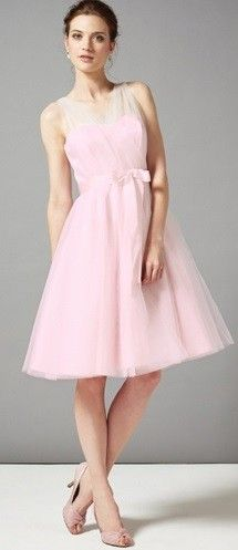 Pink Sally Tulle Dress