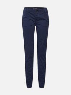 EDC BY ESPRIT Chino kalhoty - námořnická modř | ABOUT YOU Espadrilles, Edc By Esprit, Models, Skinny, Sweatpants, Navy, Design, Products, Fashion