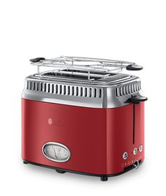 Russell Hobbs DE Retro Ribbon Red Toaster 21680-56