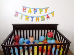 First birthday idea!!   @Leann Mulligan  this would look adorable with orange and gray balloons!!