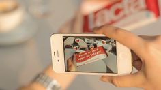 Lacta Mobile App - English by LactaFilms. Write your own love messages and see them appear on a real Lacta chocolate bar though this new augmented reality, mobile app! https://apps.facebook.com/lactamobileapp/