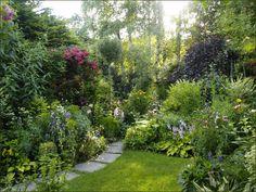 landscapefocused:  'Meine grüne Leidenschaft' from Austria / Private garden by Elfriede Lungenschmied. More photos and info here  /   s i m i l a r: Cottage Garden / Coton Manor Gardens / Joke Kuiperij and Karel Huyts' Garden