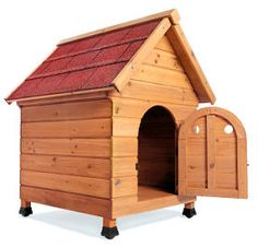 Outdoor woodworking projects should be planned in advance and are usually larger. From sheds and outbuildings to dog houses and patio furniture. Custom Woodworking, Woodworking Projects Plans, Outdoor Wood Projects, Outdoor Decor, Dog House Plans, Dog Houses, Home Projects, Wood Crafts, Cabin Ideas