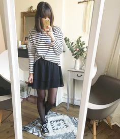 """2,725 mentions J'aime, 30 commentaires - L a u r a // ⭐️ (@laura_pastelle) sur Instagram : """"Marinière #ootd #outfit #outfitoftheday #wiwt #instalook #mariniere #toulouse"""""""