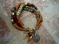 Gypsy Bracelet / Bohemian Bracelet / Boho Jewelry / by Gypsy Bracelet, Bohemian Bracelets, Bohemian Jewelry, Bohemian Rings, Bohemian Gypsy, Tribal Bracelets, Tribal Jewelry, Jewelry Gifts, Jewelry Bracelets