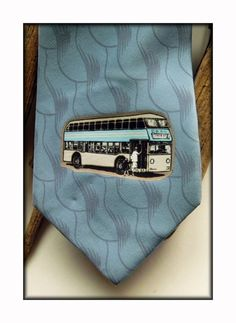 Old Style Neckties - Vintage Neckties, Love Affair, Buses, Transportation, My Favorite Things, Vintage, Style, Busses, Primitive