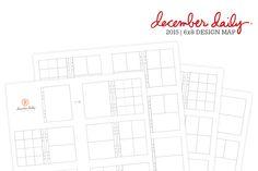 Ali Edwards | Blog: December Daily® 2015 | 6x8 Design Map