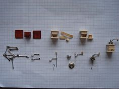 My little little dream: Миниатюрные кофемолки. How to.... make a miniature coffee grinder.