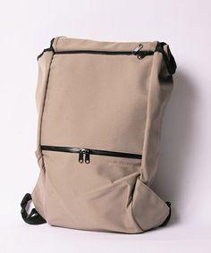 Beruf Baggage - Street Backpack. Roll top + waterproof zips.