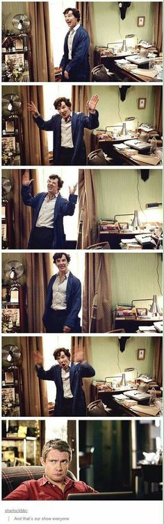 I can't decide if I'm Sherlock, John, or BOTH...
