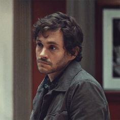 Will Graham looking like a puppy