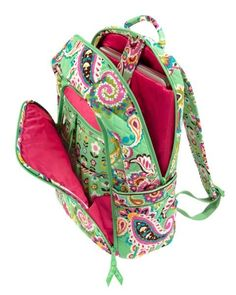 Gorgeous Tutti Fruitti Vera Bradley Laptop Backpack available at Glitz & Glamour!