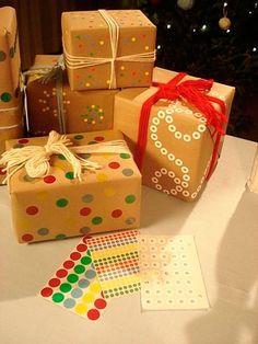 Envuelve tus regalos de Navidad e forma original #crafts #tips #regalos #gifts #manualidades