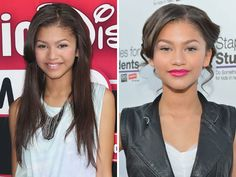 See how your fave stars switch up their makeup and hairstyles to go from daytime to red-carpet ready! Night Hair, Red Carpet Ready, Celebrity Beauty, Celebs, Celebrities, Zendaya, Plastic Surgery, Illusions, Make Up