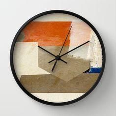 Ponta de Areia Wall Clock by Fernando Vieira