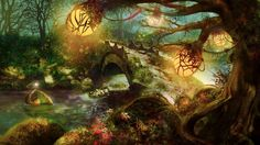 1920x1080 Nature Forest Wallpaper 1920x1080 Nature, Forest, Fantasy, Art ..