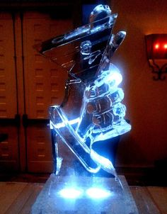 Martini Glass Ice Luge