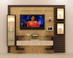 Best 40 modern TV wall units wooden tv cabinets designs for living room interior 2020 Lcd Unit Design, Lcd Panel Design, Tv Unit Interior Design, Tv Unit Furniture Design, Wall Unit Designs, Living Room Tv Unit Designs, Tv Wall Design, Tv Cabinet Design Modern, Bedroom Tv Unit Design