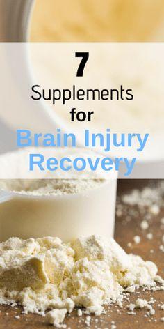 7 Fundamental Supplements for Brain Injury Recovery - How To Brain health 7 Fundamental Supplements for Brain Injury Recovery - How To Brain Brain Injury Recovery, Brain Injury Awareness, Stroke Recovery, Surgery Recovery, Pneumonia Recovery, Healthy Brain, Brain Food, Brain Health, Healthy Life
