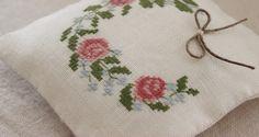 Romantico roses, free chart by luli