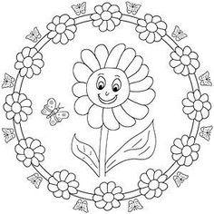 Resultado De Imagen Para Mandalas Para Ninos De 3 A 6 Anos Mandalas Para Ninos Mandalas Para Colorear Ninos Mandalas Para Colorear