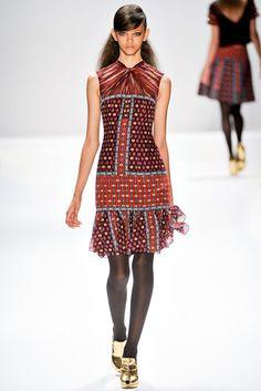 @Nanette Lepore Fall 2012 RTW  Contemporary Sportswear.  Halls Plaza.  ~mon