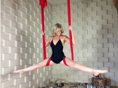 Diaper Wrap w/Split by Stephanye of Ajna Life  Aerial yoga & dance in the hammock, silks, lyra and trapeze. Tutorials, pose references and lifestyle at ajnalife.com