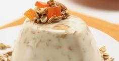 Gelatina de yoghurt con granola
