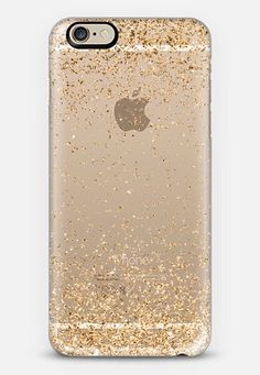 Gold Sparkly Glitter Burst iPhone 6 case by Organic Saturation | Casetify