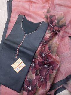 Long Dress Design, Stylish Dress Designs, Stylish Dresses, Khadi Saree, Organza Saree, Indian Bridal Outfits, Indian Fashion Dresses, Party Wear Dresses, Party Wear Sarees