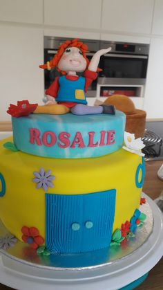 Pipi langkous pipi langstrumpf  Birthday cake verjaardagstaart