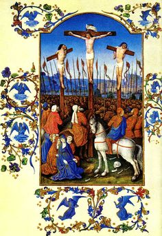 Folio 152v - The Crucifixion